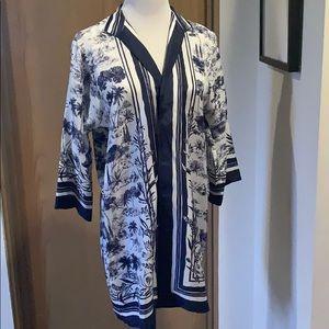Authentic Tory Burch Silk Komono